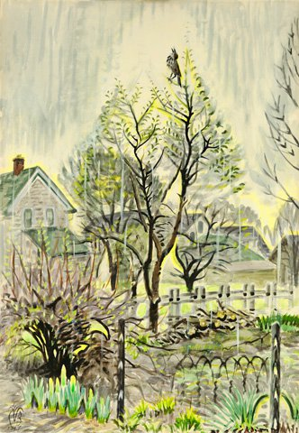 Burchfield Paintings For Sale