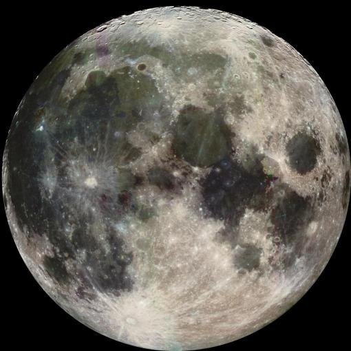 The moon, with all of its scars . . . (Seven Knot Wind, Wiki)