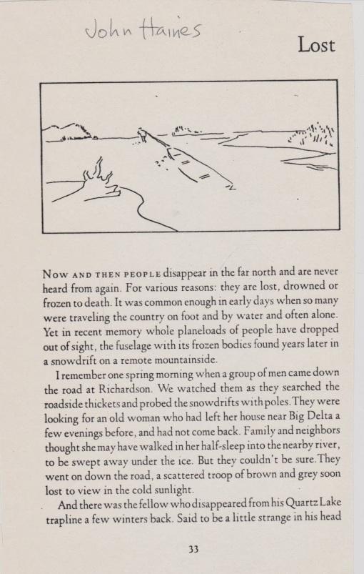 John haines lost a longhouse birdhouse word pond for Longhouse birdhouse