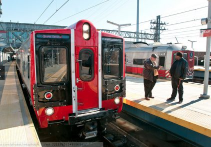 A Metro-North Railroad M-8 train. Photo: MTA.
