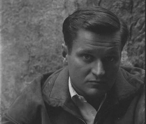 2_Photograph_of_John_Ashbery_by_Walter_Silver_Paris_1959